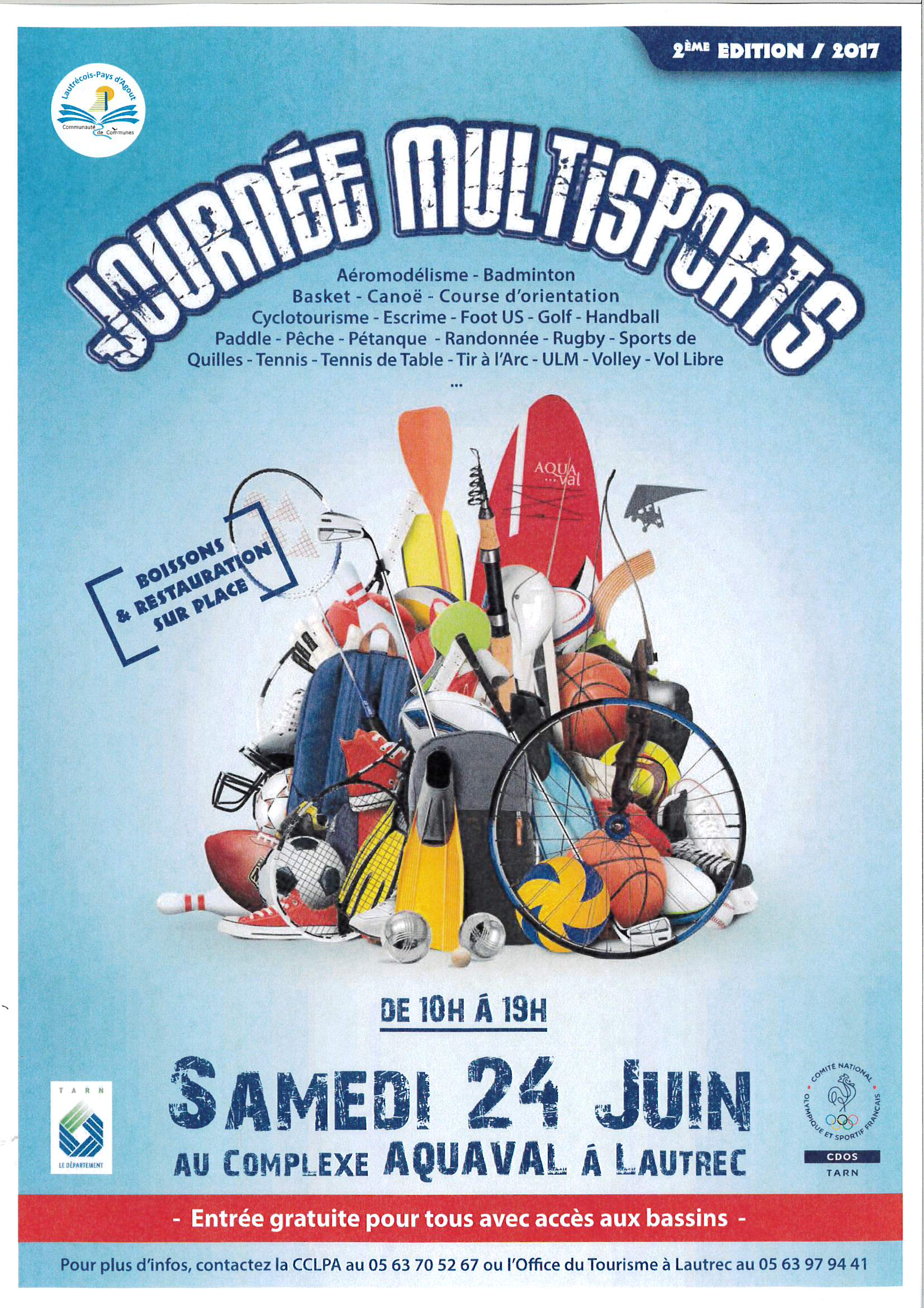 JOURNEE MULTISPORTS A AQUAVAL