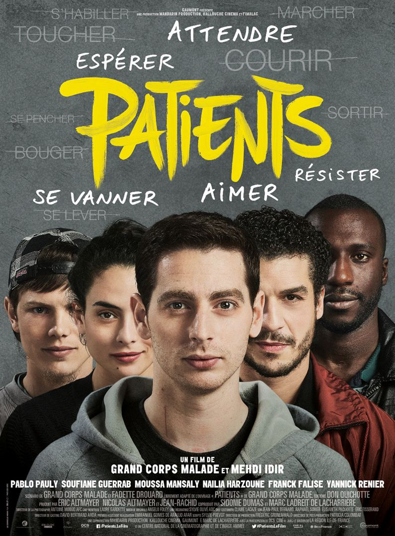 Cinécran PATIENTS le 7 juin à 20h30